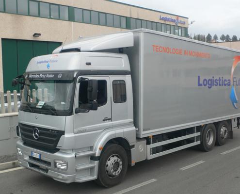 trasporto apparecchiature medicali
